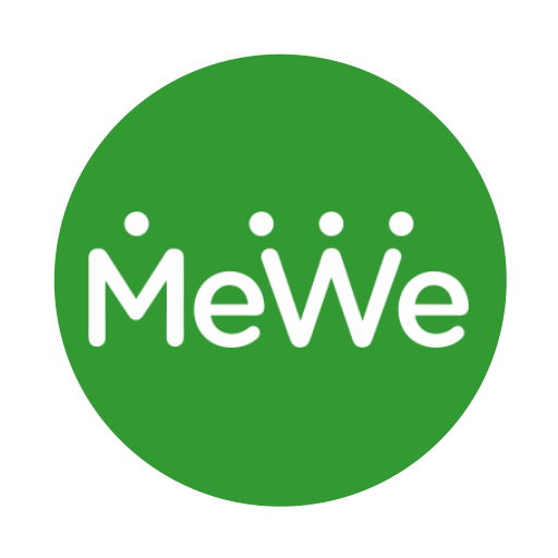 follow us on mewe